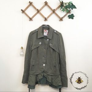 Free People | Army Green Coat / Jacket